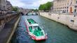 Photo of canal and bridges near Notre Dame, Paris, France