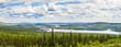 Labrador City Wabush mining towns pano NL Canada