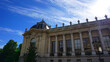 Photo of famous Petit Palais on a spring morning, Paris, France