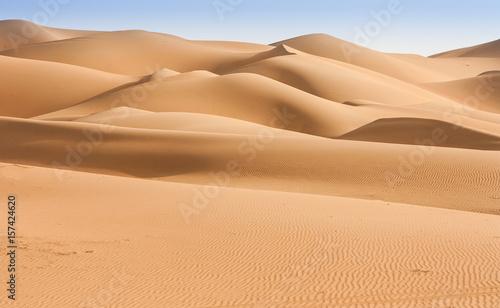 Poster Abu Dhabi Liwa Desert