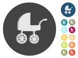 3D Icons - Kinderwagen