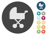 3D Icons - Babywagen