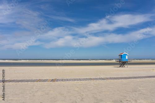 Strand, Meer; Rettunsschwimmer Turm