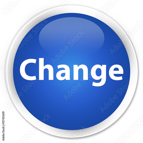 Change premium blue round button