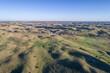 aerial view of Nebraska Sand Hills