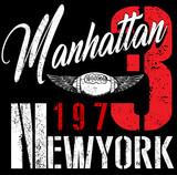 College New York typography, t-shirt graphics. - 157471297