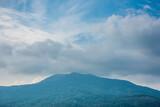 cloud and moutain landscape sky blue summer