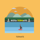 Ternate City of Indonesia Conceptual Design