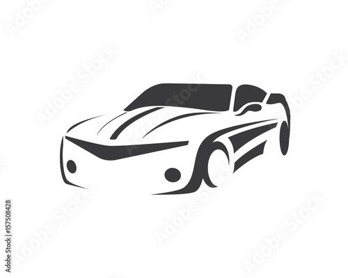 Modern Luxury Car Silhouette Logo Buy Photos Ap Images Detailview