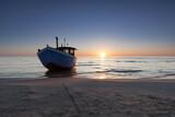 Fischkutter am Strand von Bansin auf der Insel Usedom - 157513002