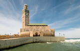 Hassan II mosque in Casablanca. Is the highest mosque in the world