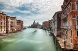 The Grand Canal with the Basilica di Santa Maria della Salute, Venice