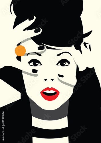 moda-kobieta-w-stylu-pop-art