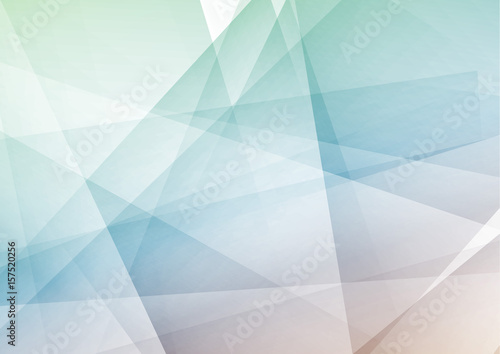 Naklejka Trendy hipster geometrical polygonal abstract modern layout. Bright contemporary futuristic graphic transparent high-tech background concept.