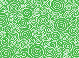 Green Swirls - 157539098