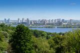 Panorama of Kyiv city