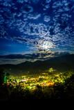 Moon over Gatlinburg