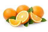 Sweet orange fruit