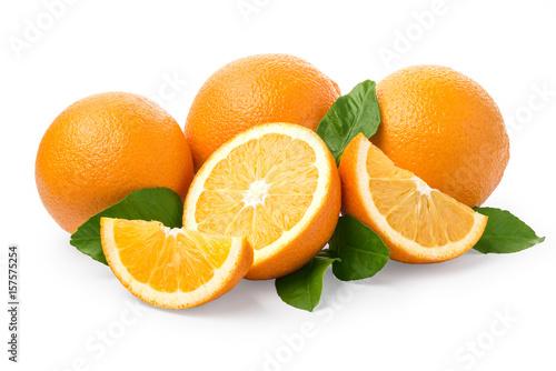 Słodka pomarańczowa owoc