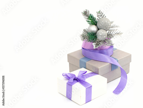 Poster holiday gift wrapping