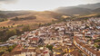 Riogordo white village in Malaga, Spain - 157676684