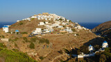 Photo of picturesque island of Sifnos on a summer morning, Cyclades, Greece