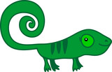 Cute cartoon dinosaur.
