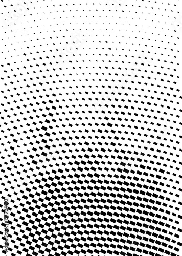 Halftone pattern vector. Cover A4 format, template for poster