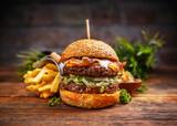 Fresh tasty burger - 157743662