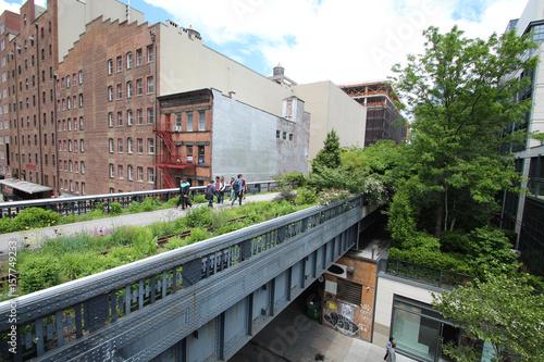High Line Walkway/ New York City - USA Poster