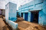 Asia, India, Uttar Pradesh, Nandgaon, tipical house of the village