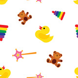 Seamless baby background