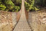 Beautiful bridge in Himalaya Mountain, Nepal