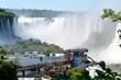The Iguaçu Falls. Brazil