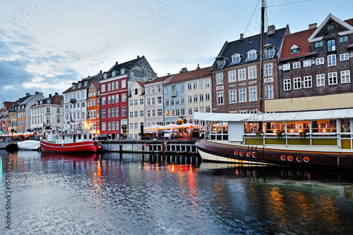 Poster Nyhavn -Copenhagen, Denmark