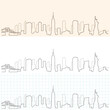 New York Hand Drawn Skyline - 157890023