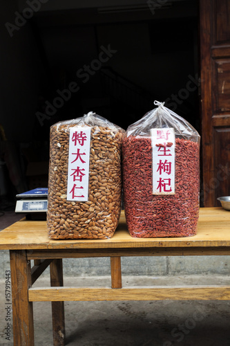 Nuts for Sale, Guilin, China