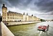 Conciergerie and the Seine, Paris