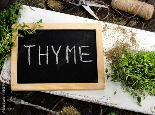 Fresh Thyme Poster