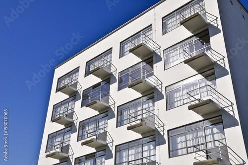 Bauhaus Dessau Balkone плакат