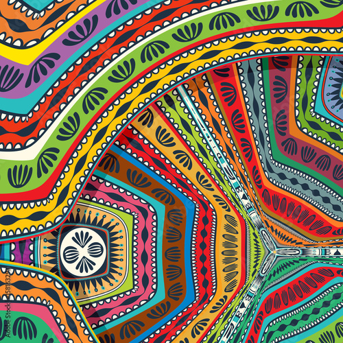 Abstract decorative tribal texture
