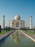 Front view of Taj Mahal