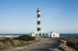 Camino al Faro de Artrutx en la Isla de  Menorca