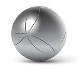 Boule de pétanque vectorielle 1