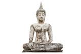 Buddha statue isolated.