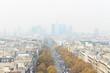 Beautiful autumn in Paris, France