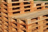 new wood palette texture - 158257412