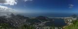 Panorama über die Bucht von Rio de Janeiro