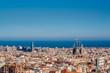 Barcelona cityscape overlook - 158264094