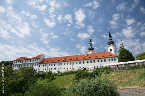 The Strahov monastery near the Prague Castle, Czech Republic Poster
